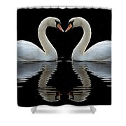 Mute Reflections Shower Curtain
