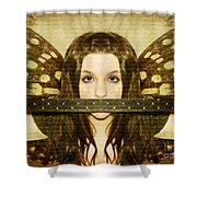 Mute Witness Shower Curtain