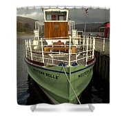 M.v The Western Belle Shower Curtain