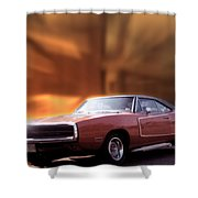 My 70 Charger 440 Six Pack Shower Curtain