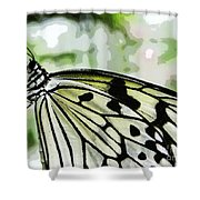 My Butterfly Shower Curtain