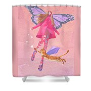 My Colored Dreams Shower Curtain