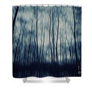 My Dark Forest Shower Curtain