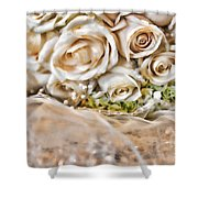 My Daughter's Bouquet By Diana Sainz Shower Curtain
