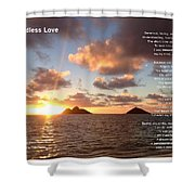 My Endless Love Shower Curtain