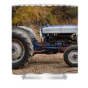 My Faithful Tractor Shower Curtain
