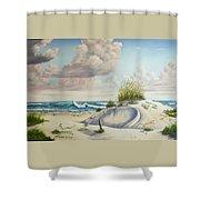 My Favorite Beach II Shower Curtain