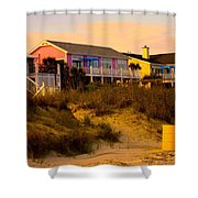 My Feet In The Sand At Isle Of Palms Shower Curtain