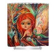 My Fiery Fairy Gwendolyn Shower Curtain