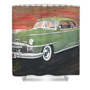 My First Car Shower Curtain