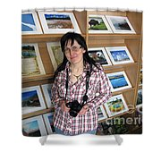 My First Personal Photo Show 2013 Shower Curtain