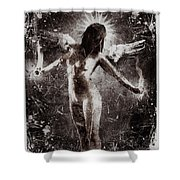My Fragile Wings Shower Curtain