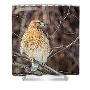 My Good Side Square Shower Curtain