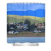 My Hometown Shower Curtain