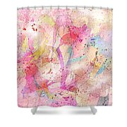 My Imaginary Friends Shower Curtain
