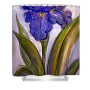 My Iris Shower Curtain