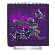 My Irises Shower Curtain