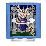 My Irish Angel Shower Curtain