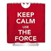 My Keep Calm Star Wars - Rebel Alliance-poster Shower Curtain