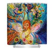 My Little Fairy Caren Shower Curtain