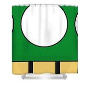 My Mariobros Fig 05b Minimal Poster Shower Curtain