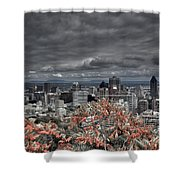 My Montreal's Colors Shower Curtain