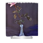 My Mothers Rose Shower Curtain