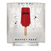 My Muppet Ice Pop - Animal Shower Curtain
