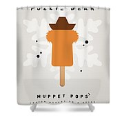 My Muppet Ice Pop - Fozzie Bear Shower Curtain