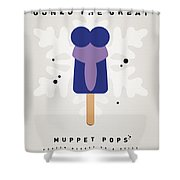 My Muppet Ice Pop - Gonzo Shower Curtain