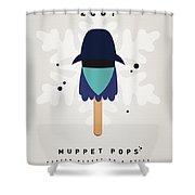 My Muppet Ice Pop - Zoot Shower Curtain by Chungkong Art