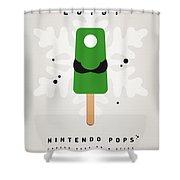 My Nintendo Ice Pop - Luigi Shower Curtain