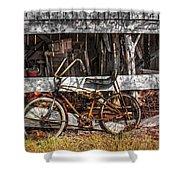 My Old Bike Shower Curtain