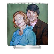 My Parents Shower Curtain
