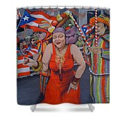 My Puerto Rican Parade Shower Curtain