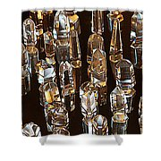 My Quartz Crystal Collection Shower Curtain