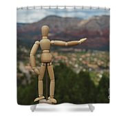 My Real Estate Shower Curtain