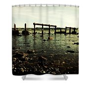 My Sea Of Ruins Shower Curtain by Marco Oliveira
