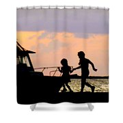 My Sister My Friend Shower Curtain
