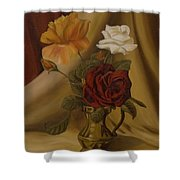My Small Roses Shower Curtain