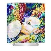 My Soul Shower Curtain by Kd Neeley
