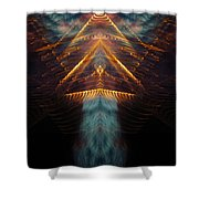 My Soul Takes Flight Shower Curtain