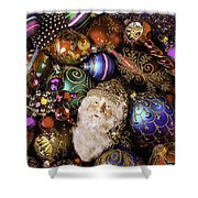 My Special Christmas Ornaments Shower Curtain