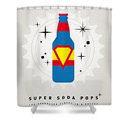 My Super Soda Pops No-05 Shower Curtain