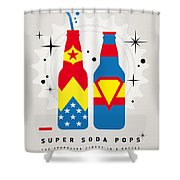 My Super Soda Pops No-06 Shower Curtain