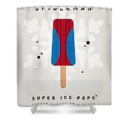 My Superhero Ice Pop - Spiderman Shower Curtain