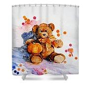 My Teddy Bear  Shower Curtain