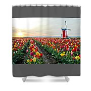 My Touch Of Holland 2 Shower Curtain