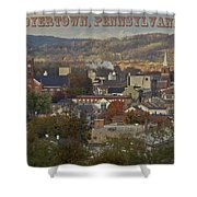 My Town Shower Curtain