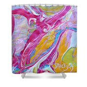 My Turn To Fly Shower Curtain